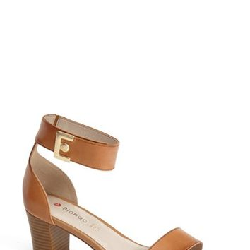 Women's Blondo 'Dalina' Leather Ankle Strap Sandal,