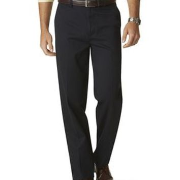 Signature Khaki Pants, Classic Fit - Dockers Navy - Men's