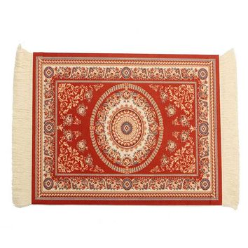 Vintage Cotton Persian Style Woven Rug Mouse Pad Carpet Mouse Mat With  Gaming Mouse Pad Square Keyboard Mat Gamer Table Office