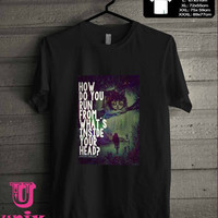 alice in wonderland quote T-Shirt for man shirt, woman shirt **