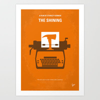 No094 My The Shining minimal movie poster Art Print by Chungkong
