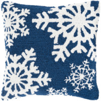 Holiday Winters Pillow ~ Navy