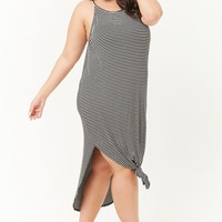 Plus Size Striped Cami Dress