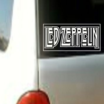 Led Zeppelin MUSIC BAND VINYL DECAL STICKER CAR TRUCK LAPTOP