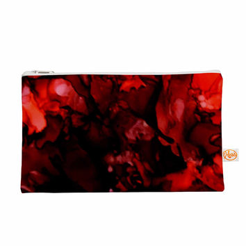 """Claire Day """"Dark Red"""" Maroon Everything Bag"""
