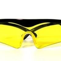 Daisy Outdoor Products Shooting Glasses (Black/Yellow, Youth to adult)