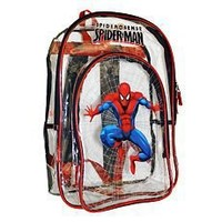 Spider Man Spider Sense Clear Backpack