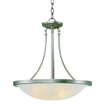 Trans Globe Lighting 6212 ROB Rubbed Oil Bronze Moon Glow Wide Pendant with White Marbleized Glass - (In ROB-Oil Rubbed Bronze)