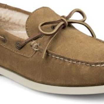 Sperry Top-Sider Authentic Original Winter 1-Eye Boat Shoe Tan, Size 9.5M  Men's Shoes