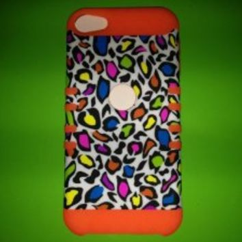 Unlimited Cellular ITOUCH5-RSKIN-OR Rocker Series Skin Case, Apple iPod Touch - Orange