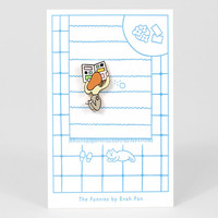 The Funnies Pin by Evah Fan