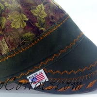 Camo Hybrid Welding cap Choose your size and custom embroidery!