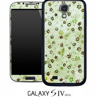 Vintage Green Icons Skin for the Samsung Galaxy S4, S3, S2, Galaxy Note 1 or 2