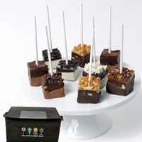 Dylan's Candy Bar Chocolate-Dipped Brownie Pops
