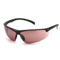 Ducks Unlimited Shooting Eyewear Black Frame/Vermillion Lens