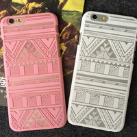 Hollow Out Lace Ethnic iPhone 5se 5s 6s 6s Case Cose Gift 305