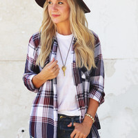 Hey Girl Plaid