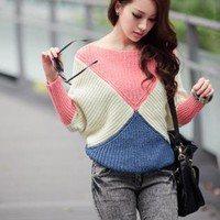 TRIANGLE STYLE FASHION SWEATER