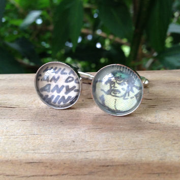 The Hulk Cufflinks (Ready to Ship) - Groom's Corner - Wedding Cufflinks - Everyday Cufflinks