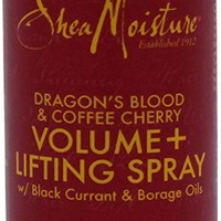 Shea Moisture Dragon's Blood & Coffee Cherry Volume & Lifting Spray for Unisex, 4 Ounce