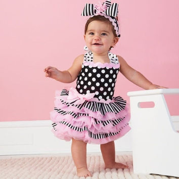 New Fashion Princess Dress Baby Girls Ball Gown Ruffle Sundress 20092|28001 Children's Clothing (Hair band not include) = 1946130372
