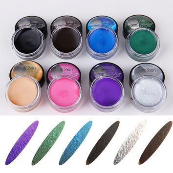 8 Colors Shimmer Eyeshadow