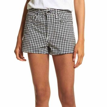 Rag & Bone/JEAN Justin Gingham Shorts