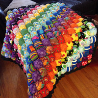 Rainbow Baby Biscuit Quilt Play Mat - Made to Order