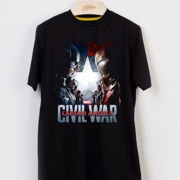 Captain America: Civil War T-shirt Men, Women Youth and Toddler