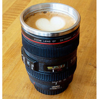Cool Unique Camera Lens Coffee Mug