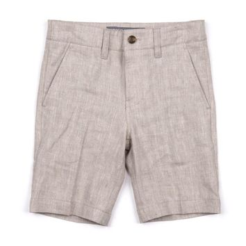 Appaman Boys' Khaki Herringbone Trouser Shorts