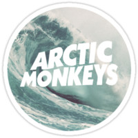 Arctic Monkeys wave logo T-Shirts & Hoodies