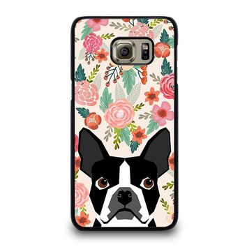 BOSTON TERRIER DOG BREED Samsung Galaxy S6 Case Cover