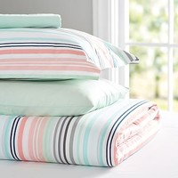 Vintage Stripe Deluxe Value Duvet Set
