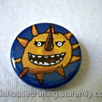 Soul Eater Sun 1.25 inch pinback button/magnet from Little House of Crafting