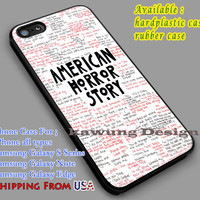 Quotes | American Horror Story iPhone 6s 6 6s+ 6plus Cases Samsung Galaxy s5 s6 Edge+ NOTE 5 4 3 #movie #AmericanHororStory dl2