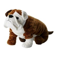 "GOSIG BULLDOG Soft toy, brown, white - 21 ¾ "" - IKEA"