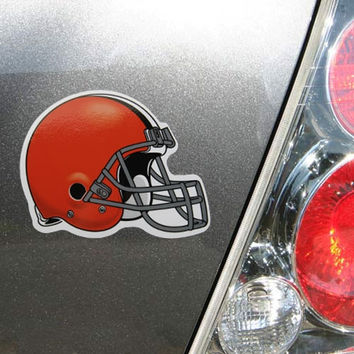 "Cleveland Browns WinCraft 4"" Die Cut Car Magnet"
