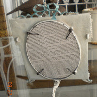 French picture Frame* French Swag* Barbola* Iron* Architectural* Patina*  Picture Frame