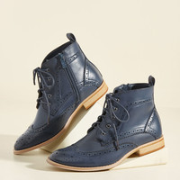 On the Wingtip of Your Tongue Boot | Mod Retro Vintage Boots | ModCloth.com
