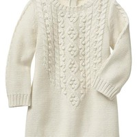 Gap Baby Factory Cable Knit Dress