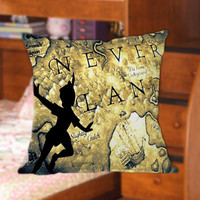 Peter Pan Take Me To Neverland for Pillow Cover