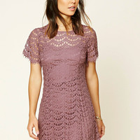 Contemporary Crochet Lace Dress