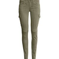 Skinny Low Jeans - from H&M