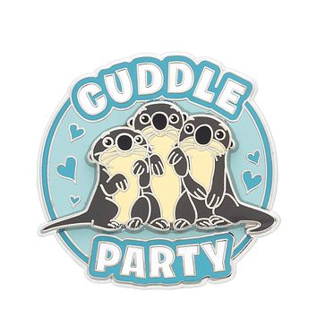 Disney Parks Finding Dory Otters Cuddle Party Pin New with Card