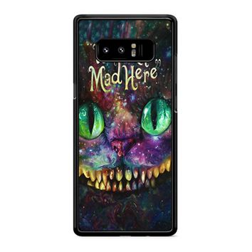 We Are All Mad Here Alice In Wonderland Samsung Galaxy Note 8 Case