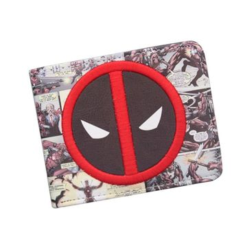 Deadpool Dead pool Taco New Designer 2018  WALLET Student  Cartoon Wallet & Purse ID Credit Card Holder Leather Bag Cool Wallet For Men AT_70_6