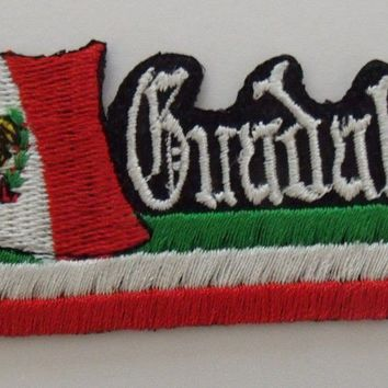 Guadalajara Mexico Flag Patch