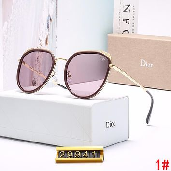 DIOR Popular Women Simple Casual Shades Eyeglasses Glasses Sunglasses 1#