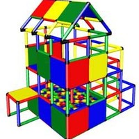 Home Playground Structure w/ Ball Pit